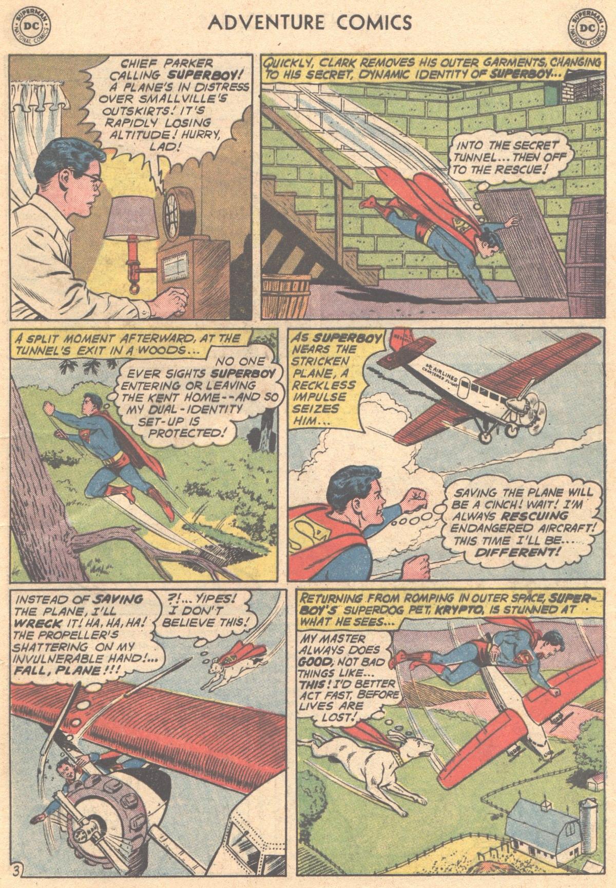 Read online Adventure Comics (1938) comic -  Issue #293 - 5