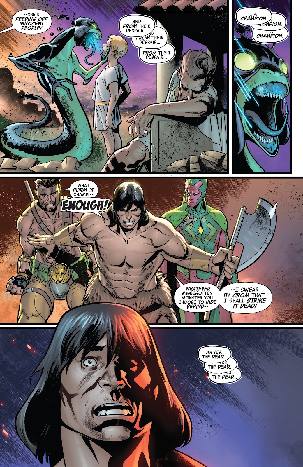 Read online Avengers No Road Home comic -  Issue #7 - 21