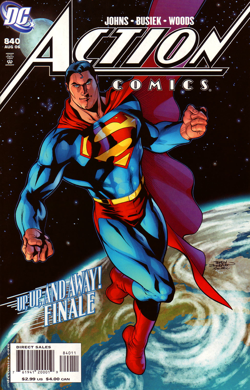 Read online Action Comics (1938) comic -  Issue #840 - 1