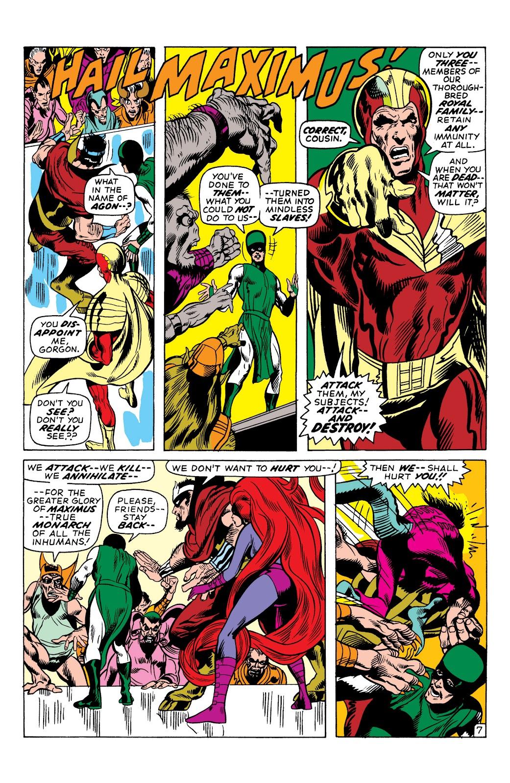 Read online Marvel Masterworks: The Inhumans comic -  Issue # TPB 1 (Part 2) - 31