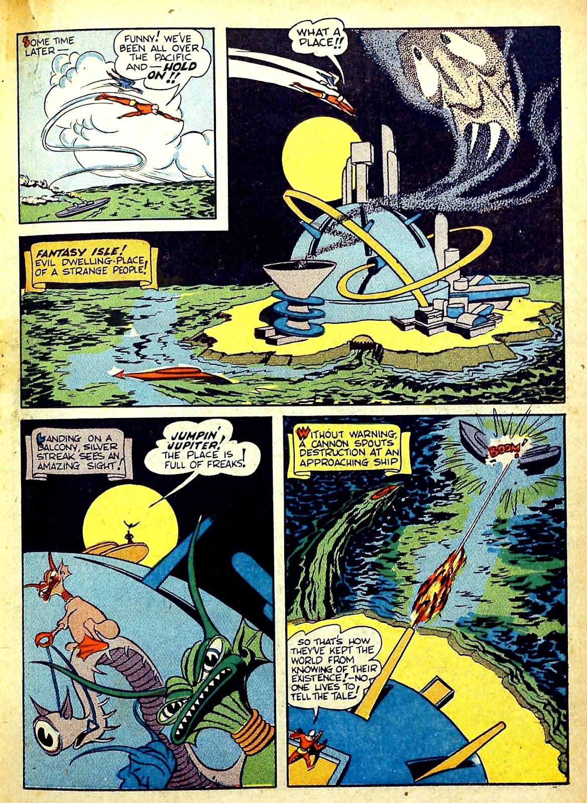 Read online Silver Streak Comics comic -  Issue #22 - 35