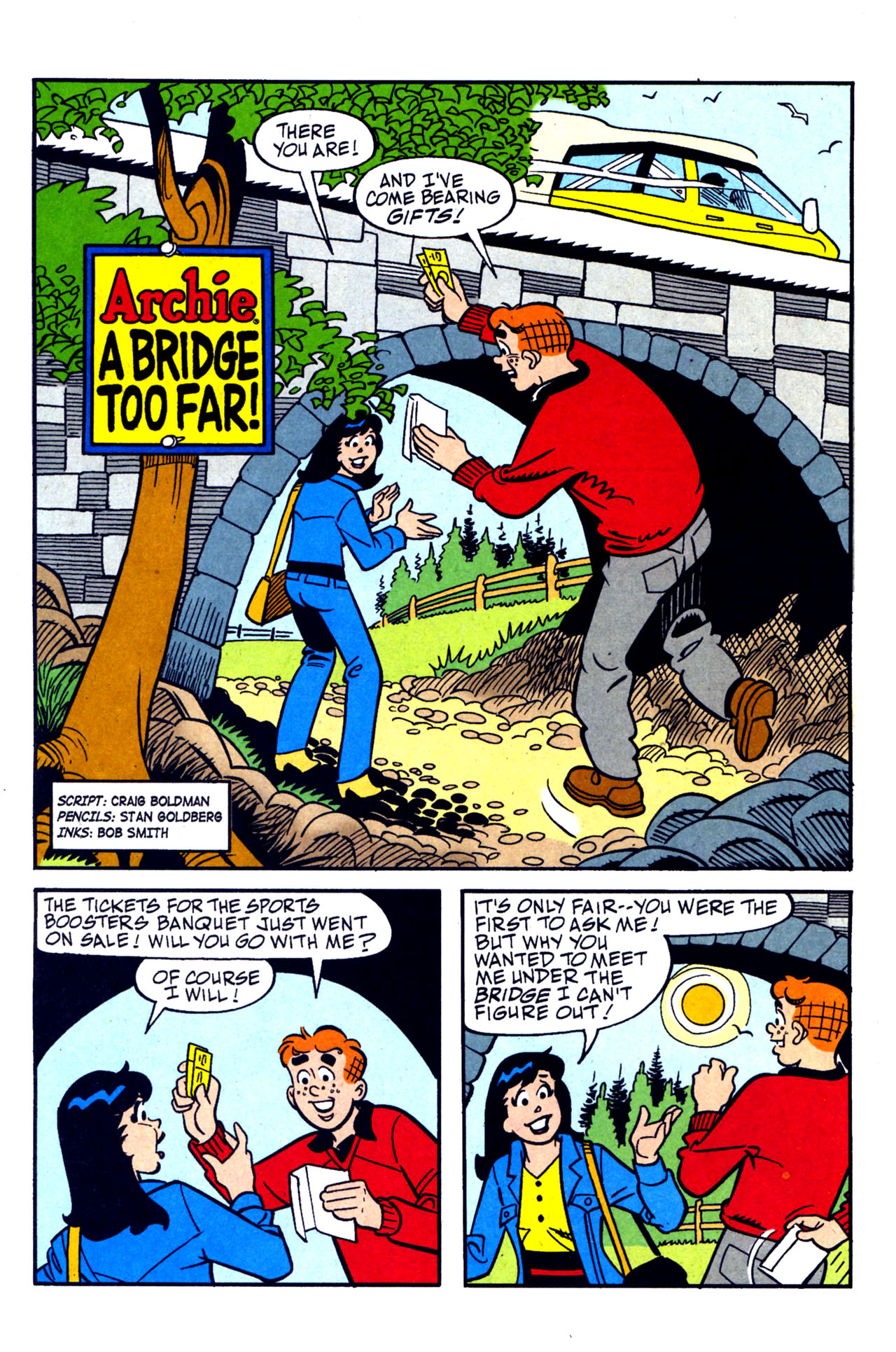 Read online Archie (1960) comic -  Issue #578 - 21