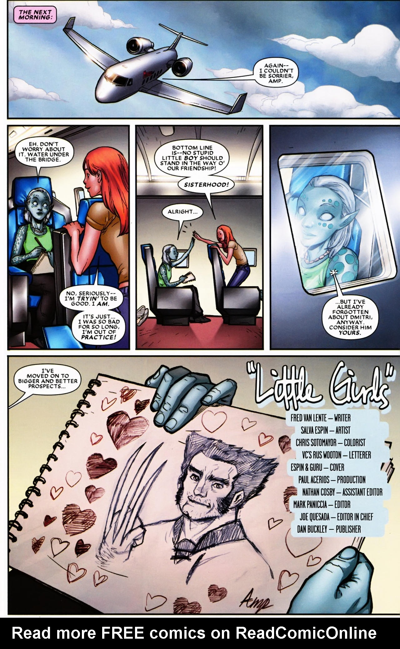 Read online Wolverine: First Class comic -  Issue #6 - 23