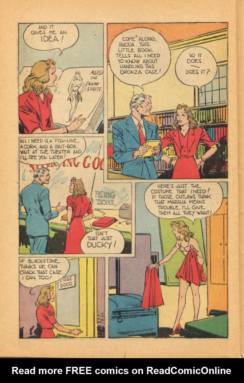 Read online Super-Magician Comics comic -  Issue #44 - 46