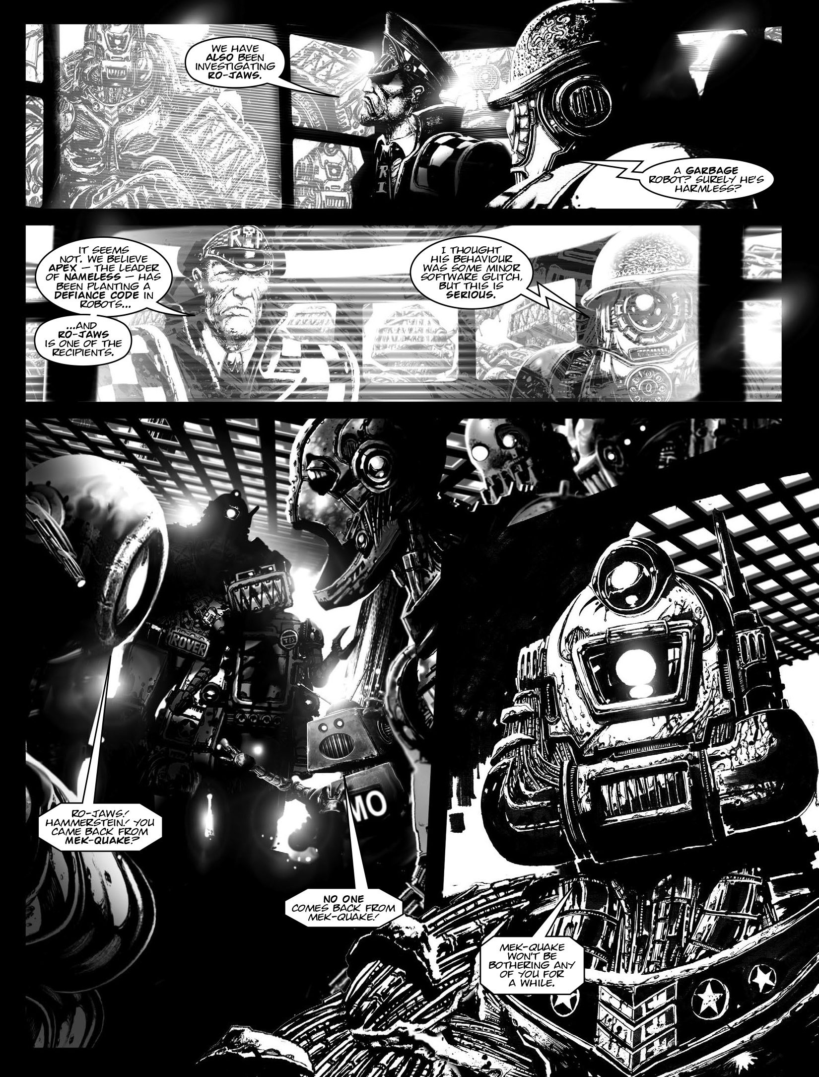 Read online 2000 AD comic -  Issue #1964 - 24