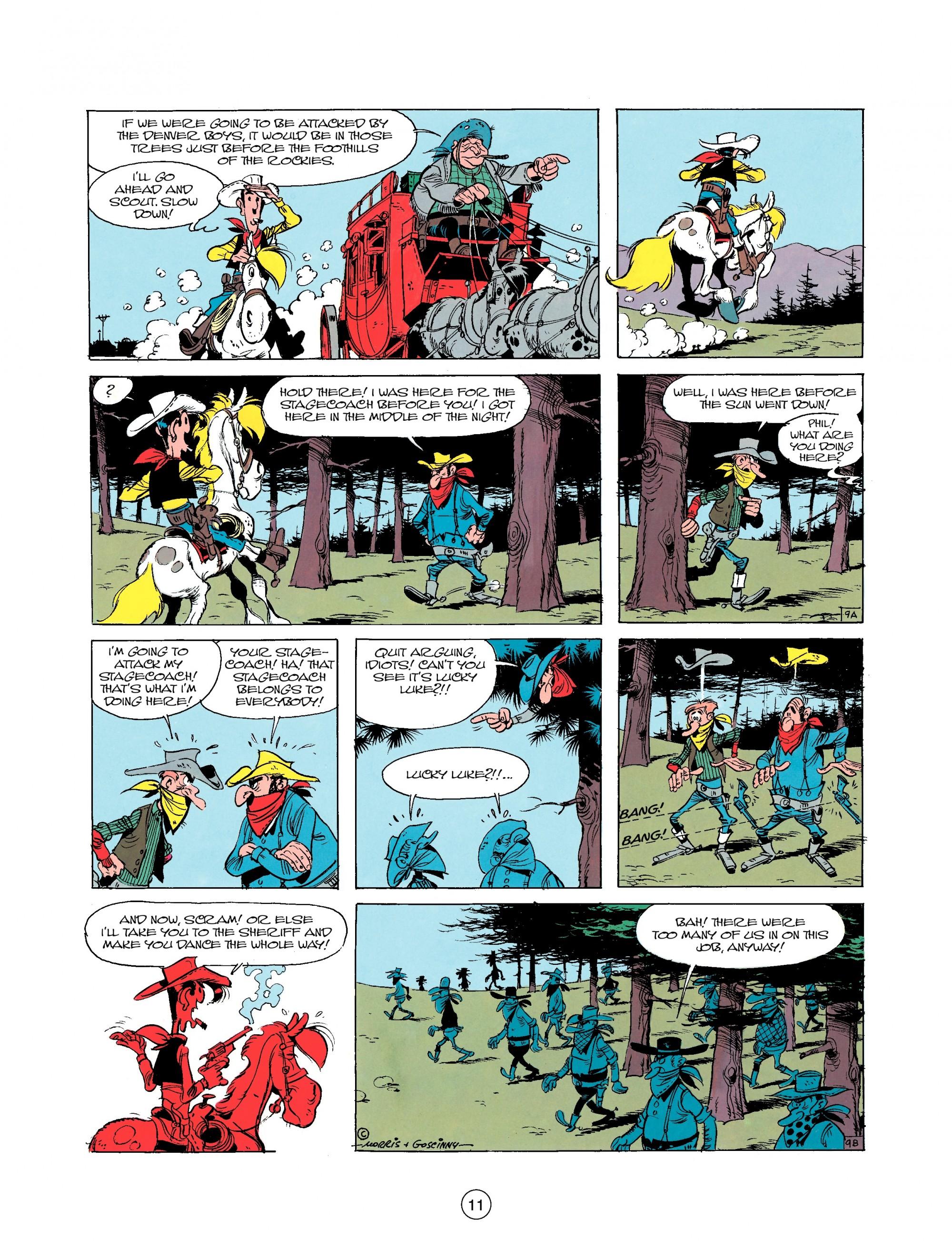 Read online A Lucky Luke Adventure comic -  Issue #25 - 11