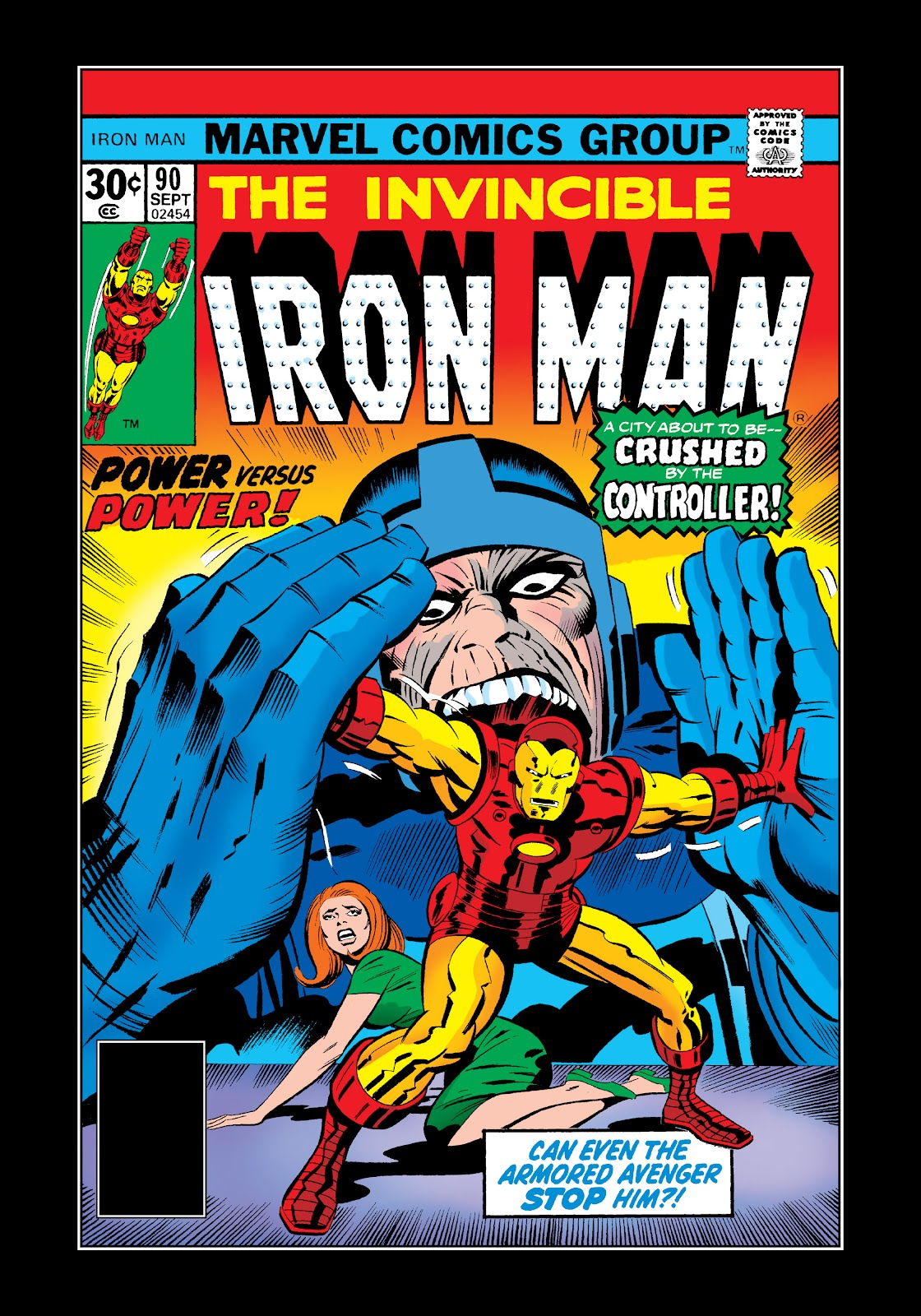 Read online Marvel Masterworks: The Invincible Iron Man comic -  Issue # TPB 11 (Part 2) - 93