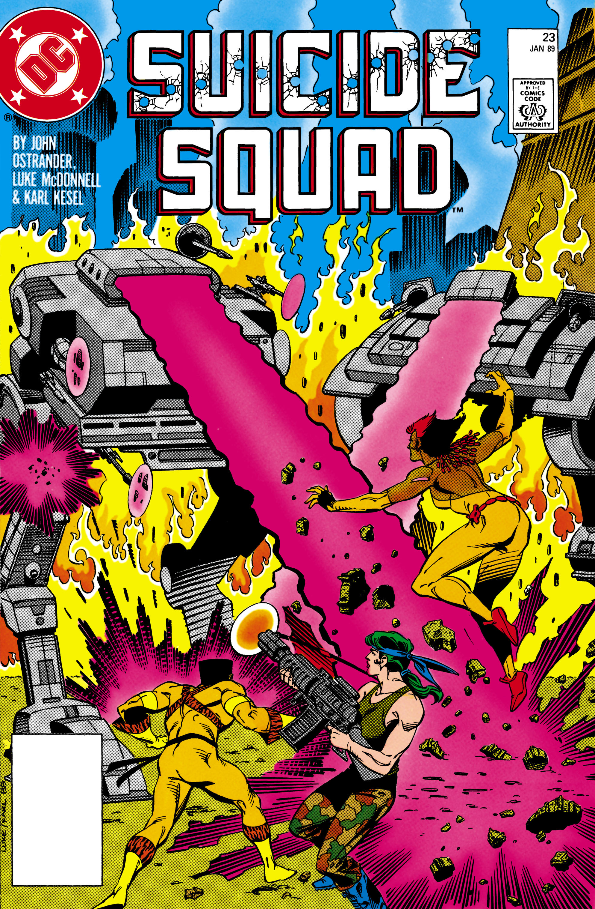Suicide Squad (1987) issue 23 - Page 1