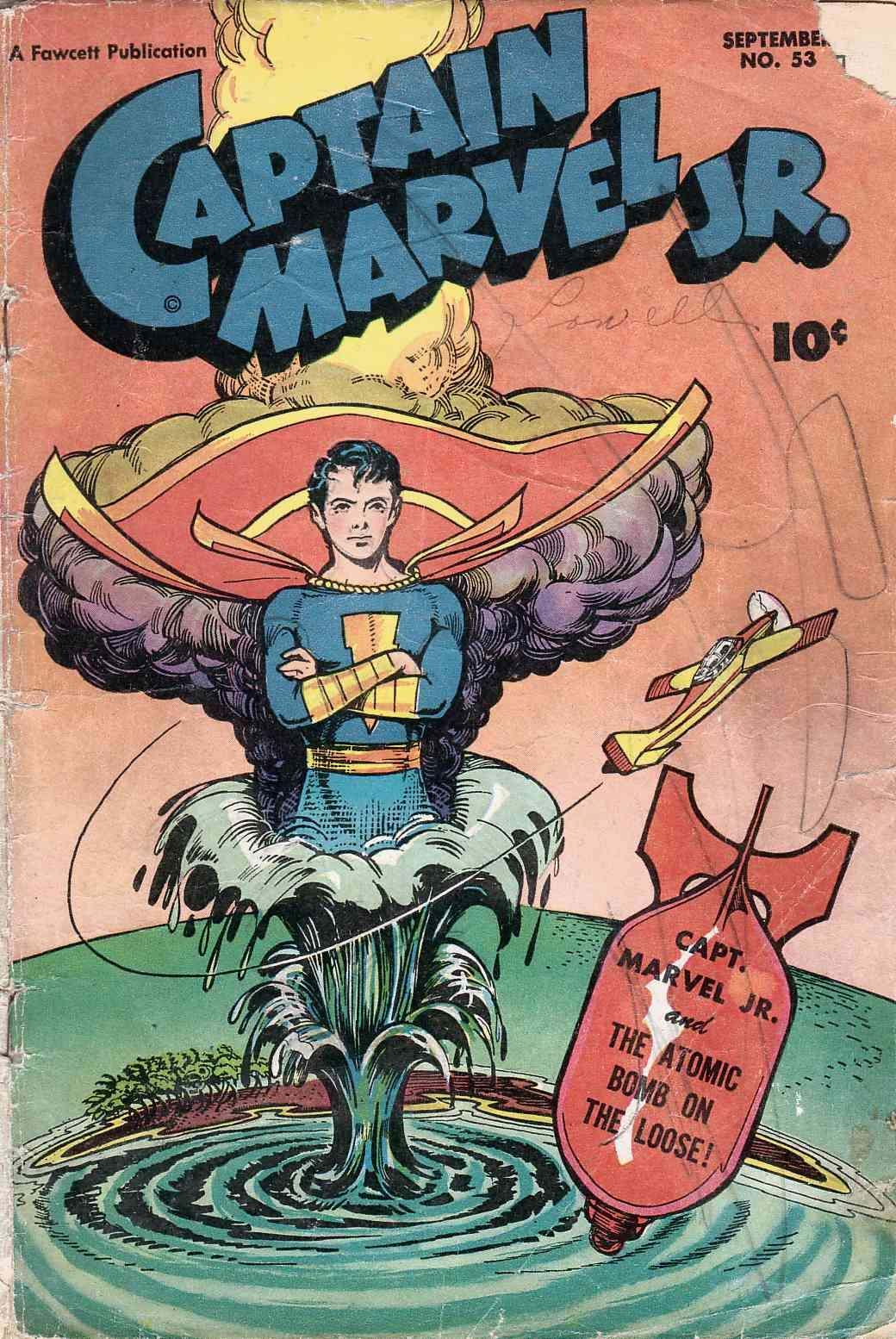 Captain Marvel, Jr. issue 53 - Page 1