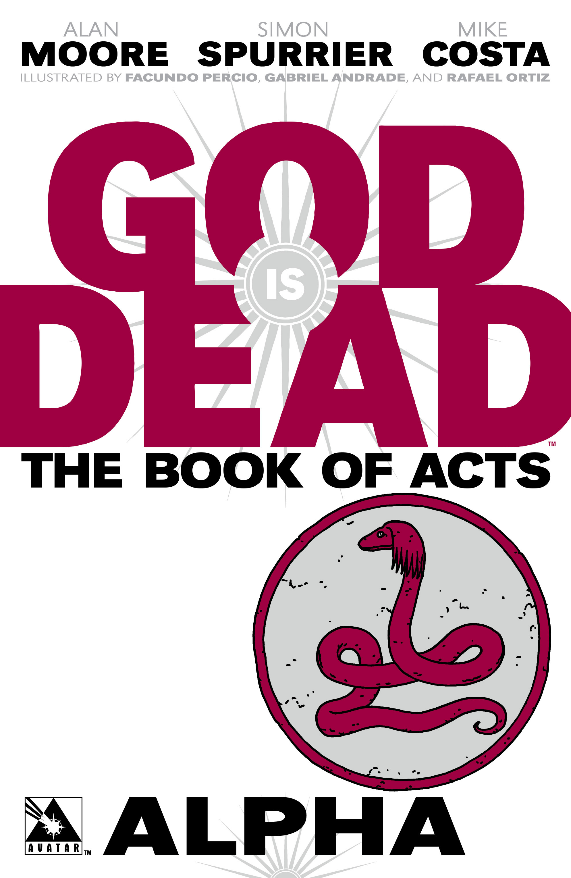 Read online God is Dead: Book of Acts comic -  Issue # Alpha - 1