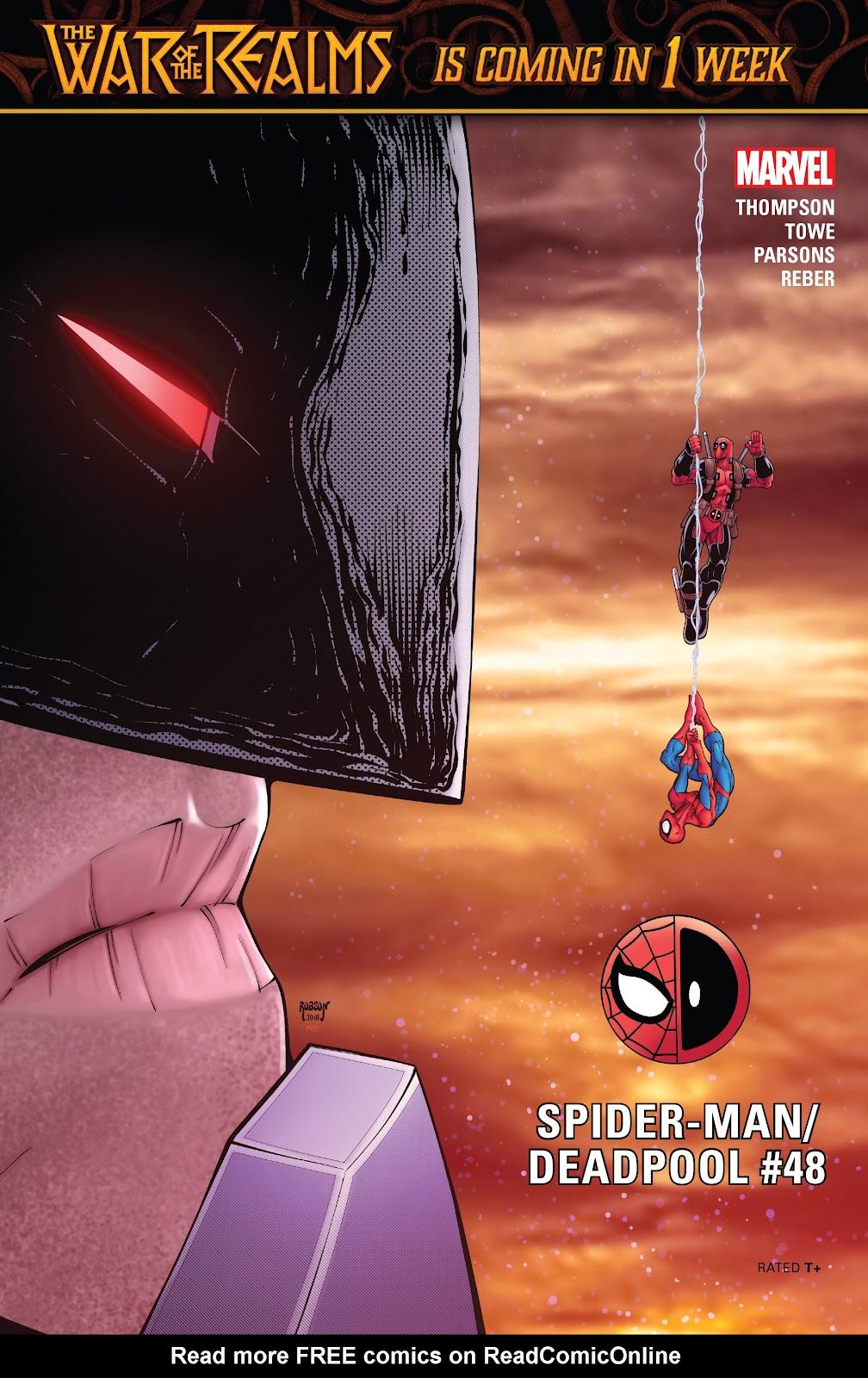 Read online Spider-Man/Deadpool comic -  Issue #48 - 1