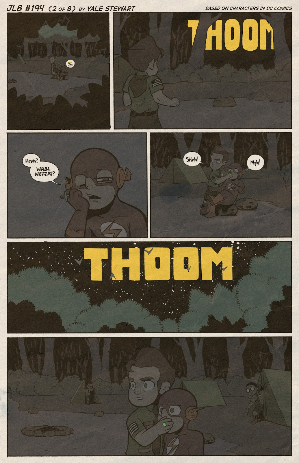 Read online JL8 – The Complete Collection comic -  Issue # TPB (Part 2) - 15