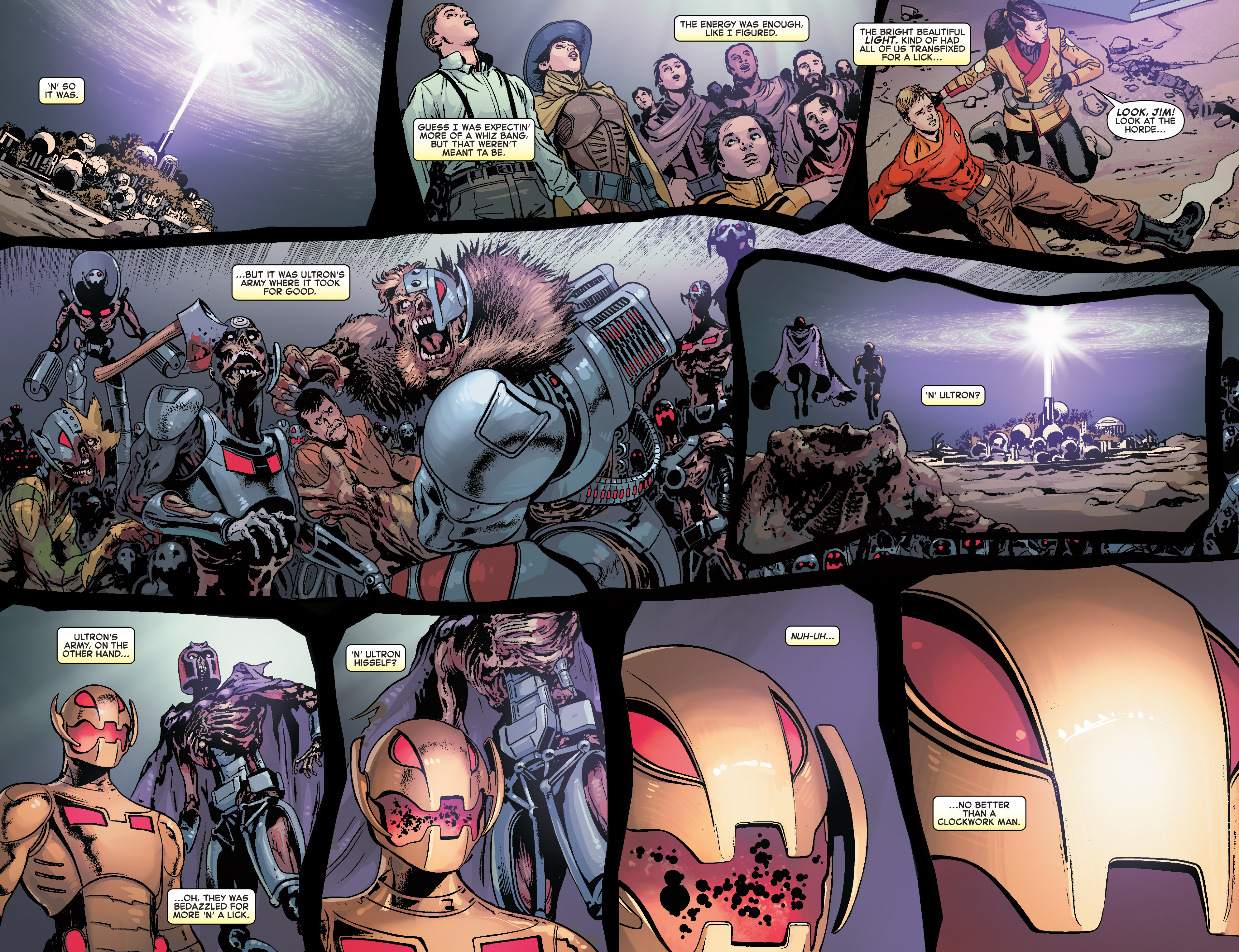 Read online Age of Ultron Vs. Marvel Zombies comic -  Issue #4 - 15