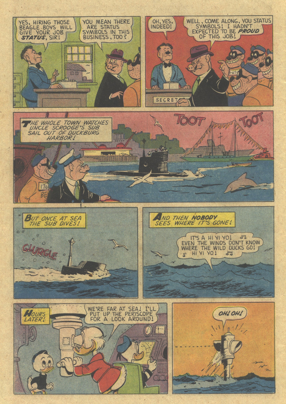 Read online Uncle Scrooge (1953) comic -  Issue #98 - 10