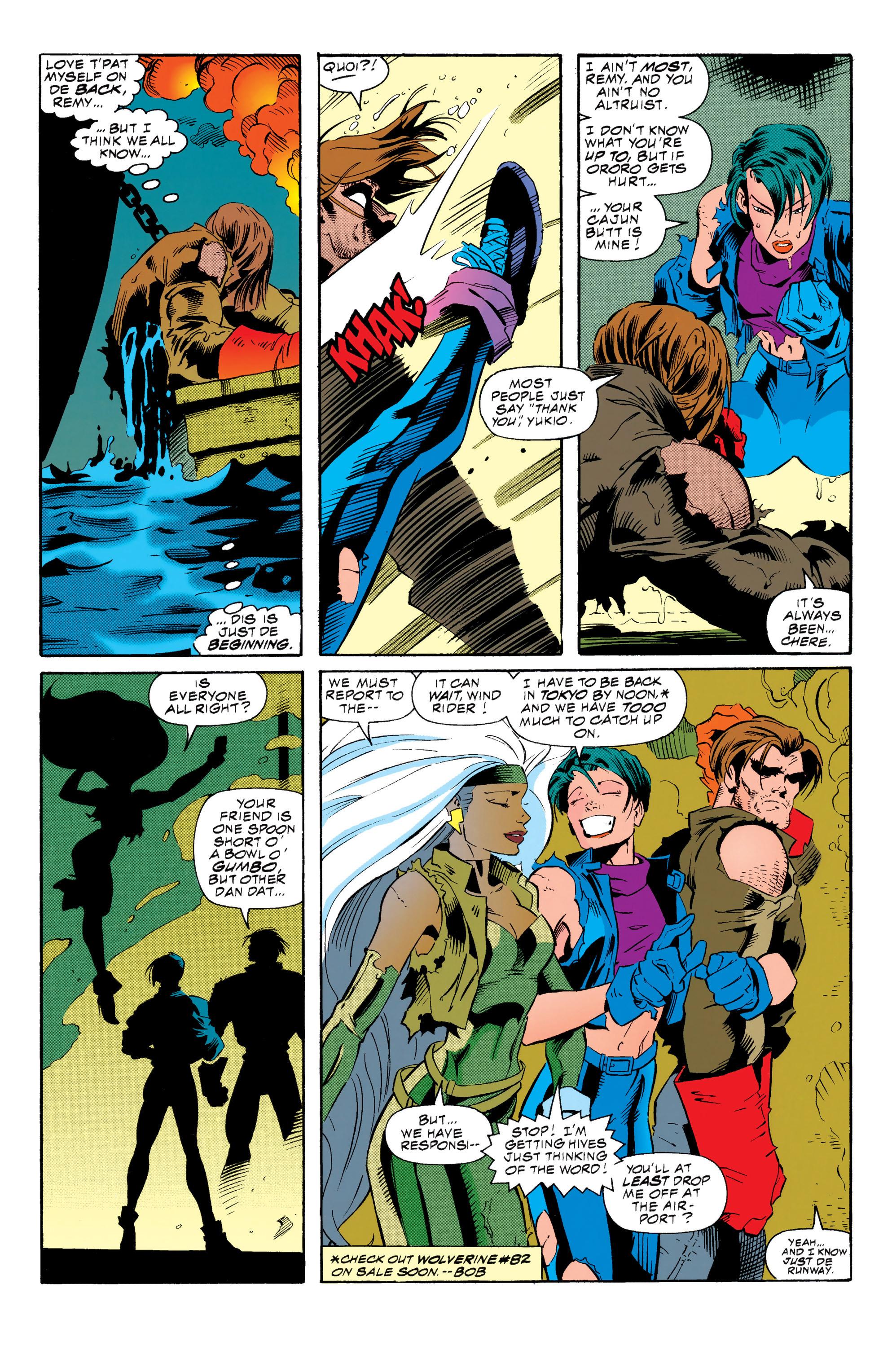 Read online Uncanny X-Men (1963) comic -  Issue #313 - 21