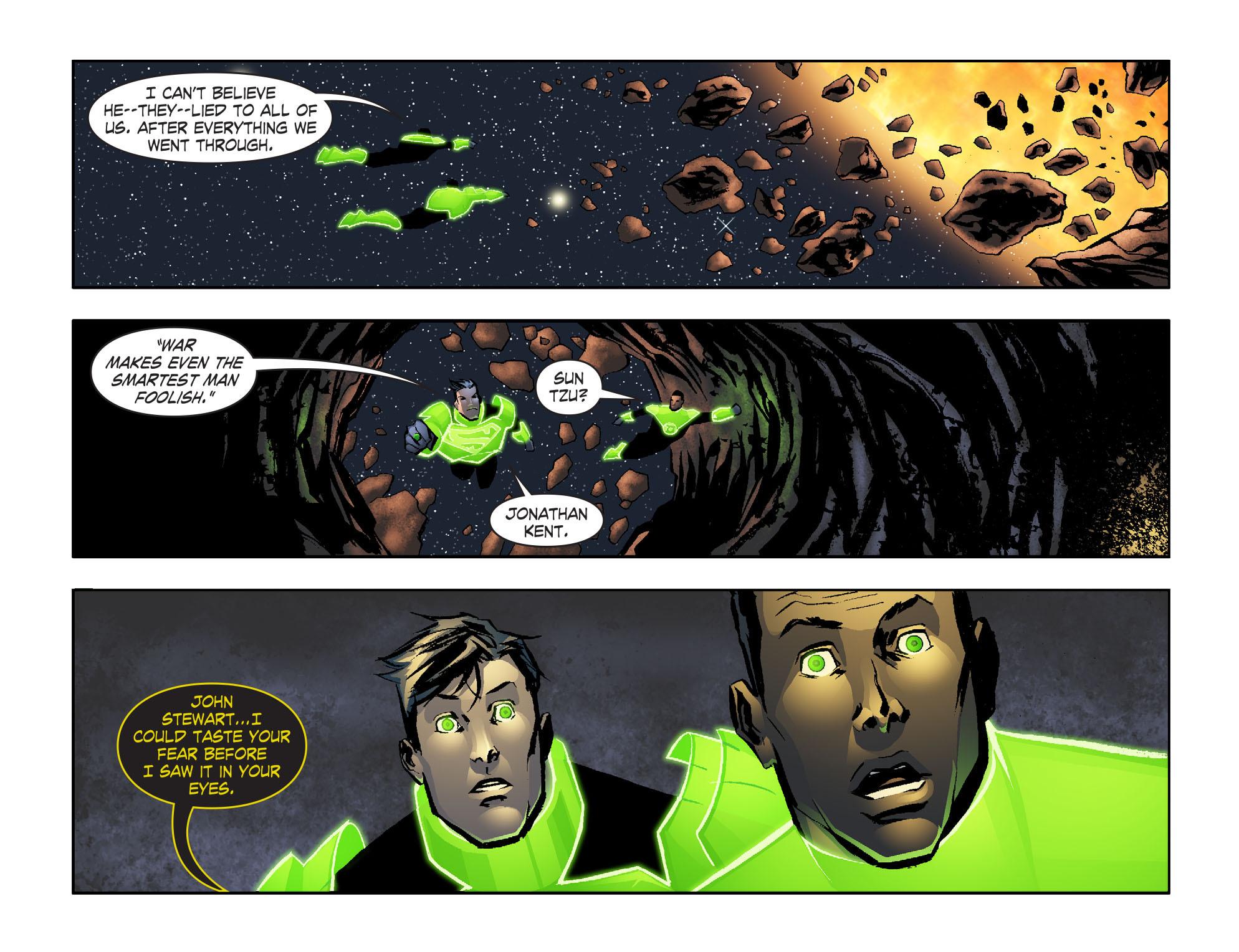 Read online Smallville: Lantern [I] comic -  Issue #6 - 19