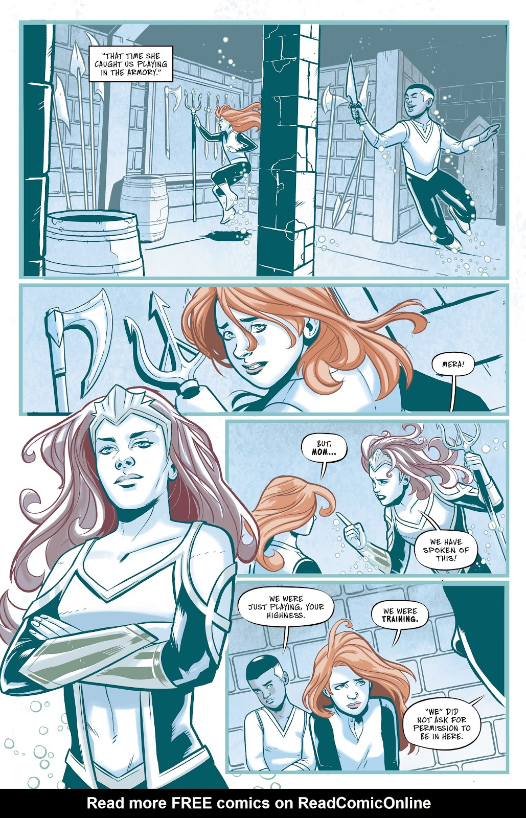 Read online Mera: Tidebreaker comic -  Issue # TPB (Part 1) - 32