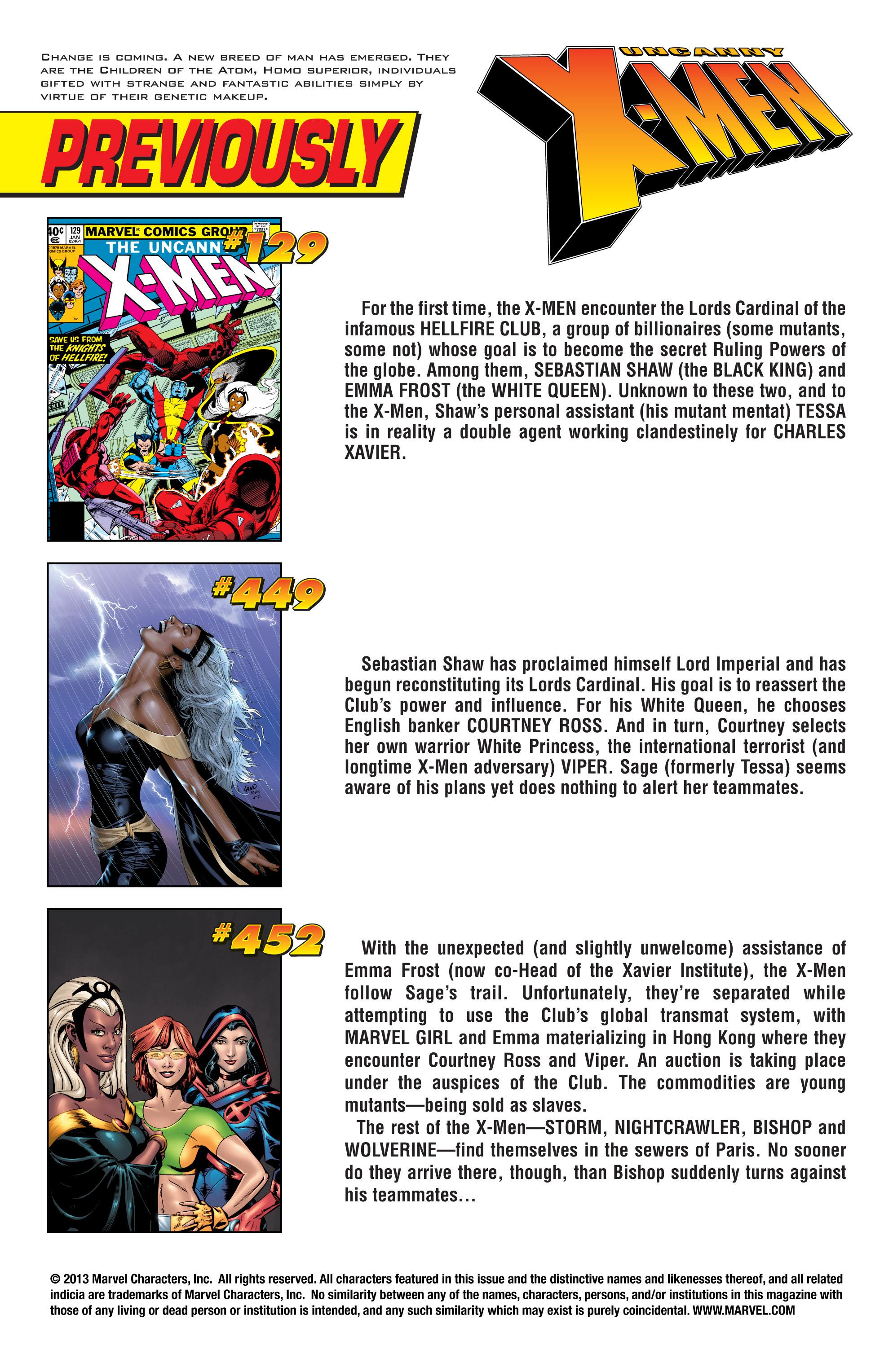 Read online Uncanny X-Men (1963) comic -  Issue #453 - 2