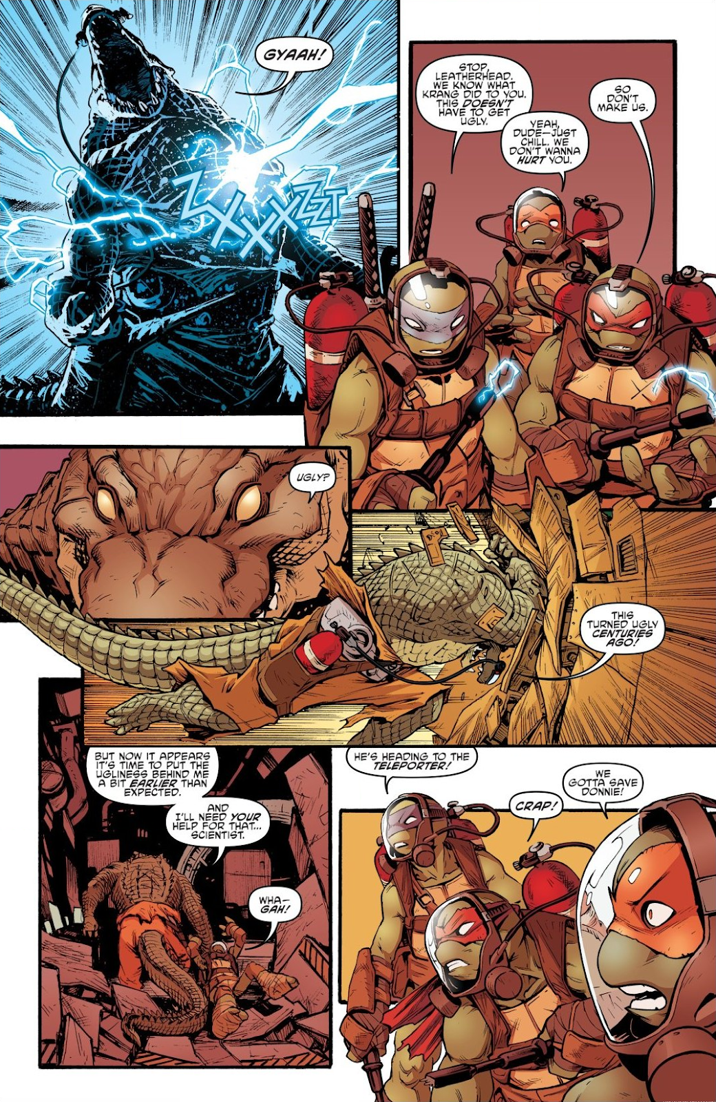 Read online Teenage Mutant Ninja Turtles: The IDW Collection comic -  Issue # TPB 7 (Part 2) - 76