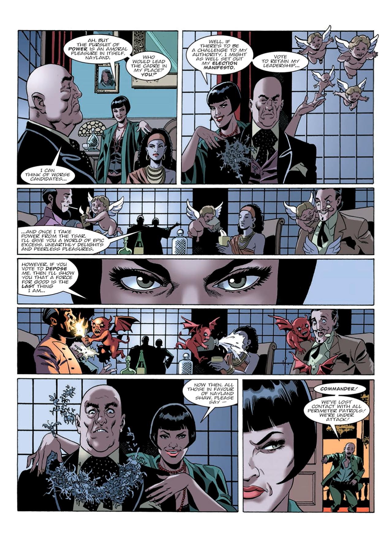 Read online Nikolai Dante comic -  Issue # TPB 9 - 166