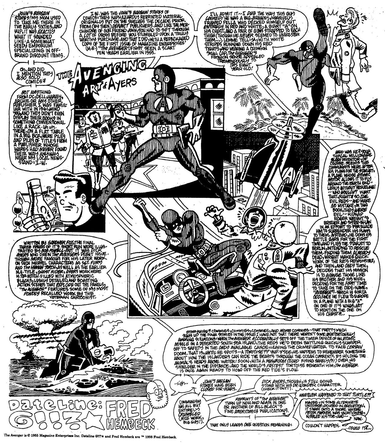 Read online The Nearly Complete Essential Hembeck Archives Omnibus comic -  Issue # TPB (Part 7) - 61