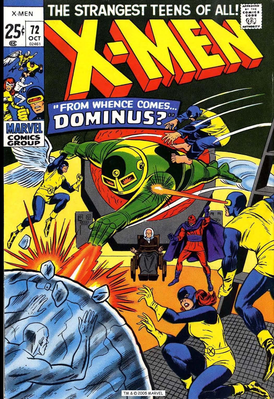 Uncanny X-Men (1963) 72 Page 1