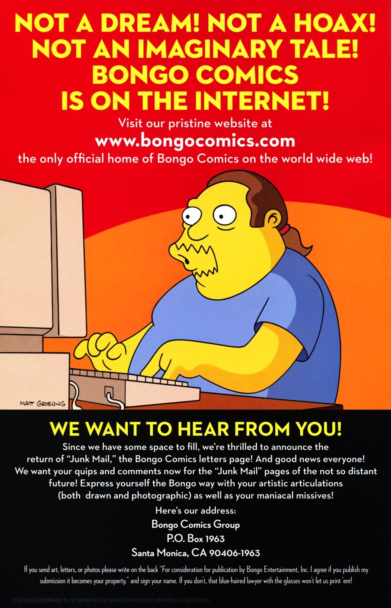 Read online Simpsons Comics Presents Bart Simpson comic -  Issue #55 - 2