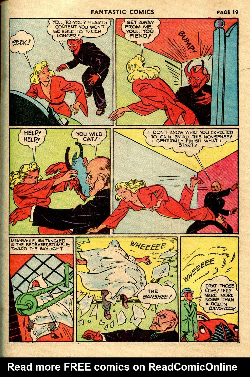 Read online Fantastic Comics comic -  Issue #21 - 21
