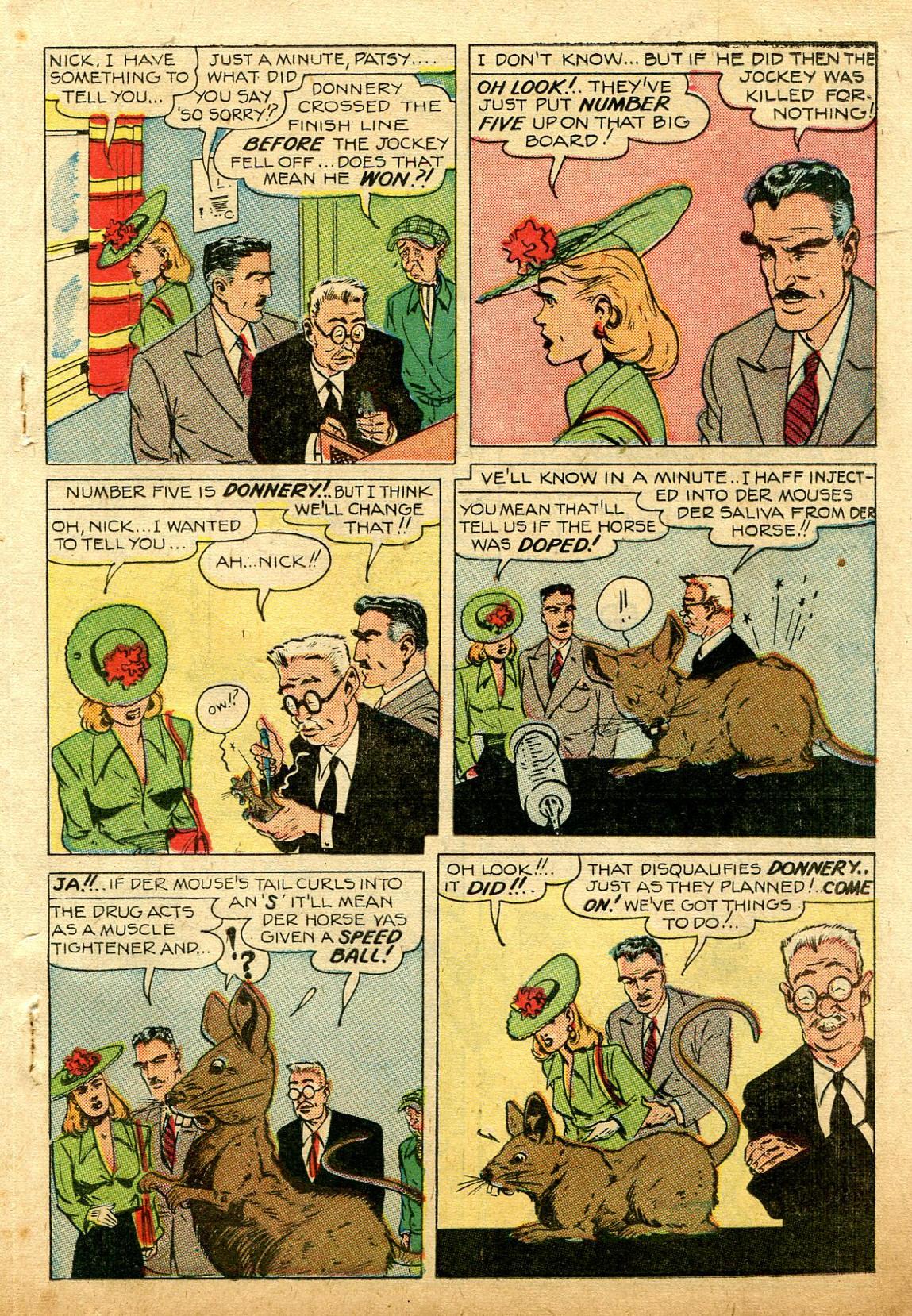 Read online Shadow Comics comic -  Issue #74 - 27