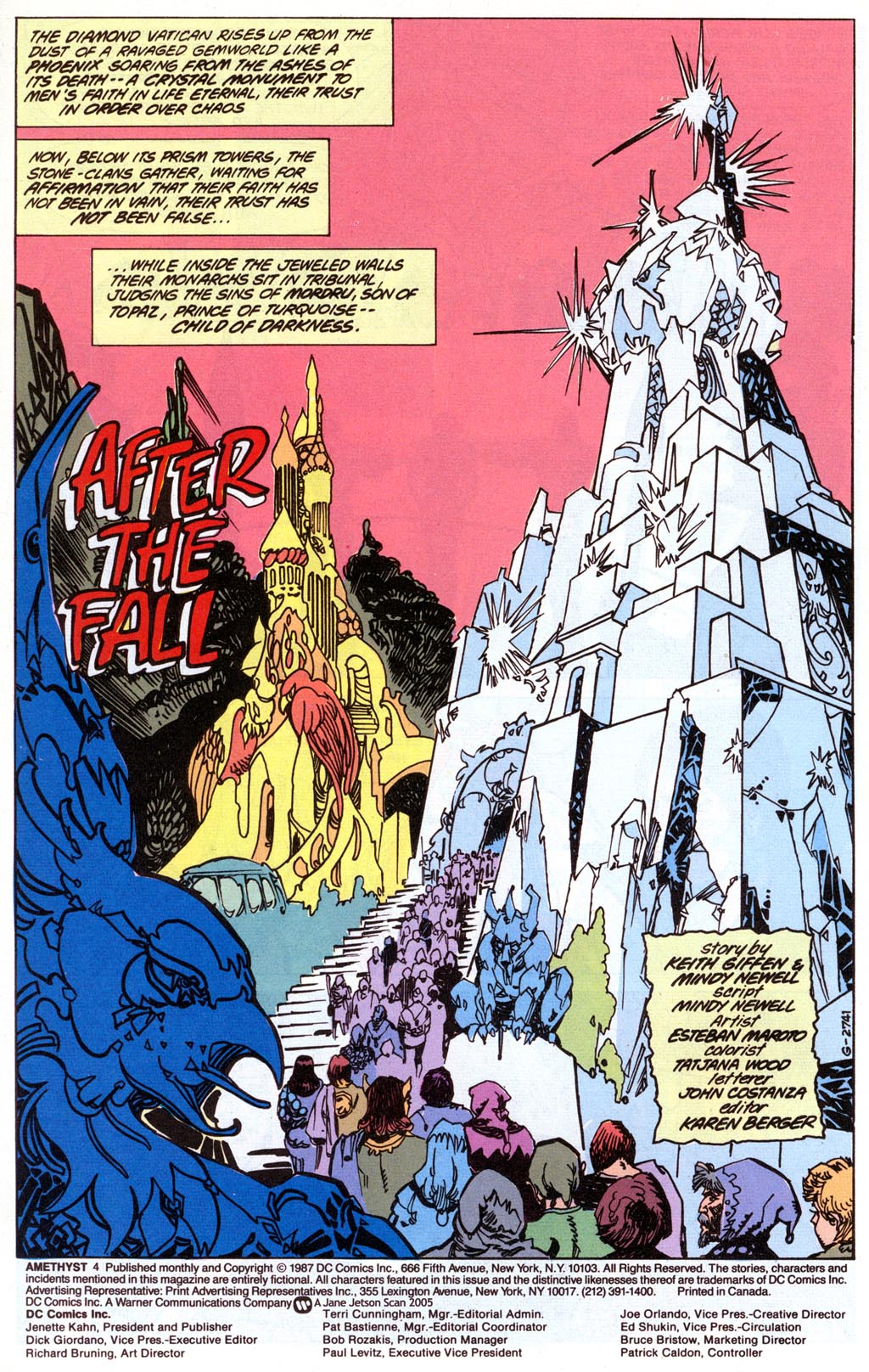 Read online Amethyst (1987) comic -  Issue #4 - 3