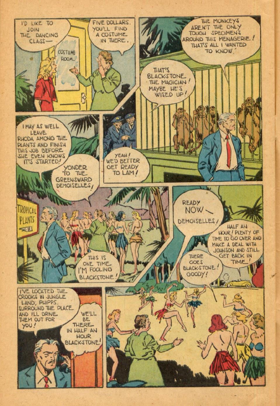 Read online Super-Magician Comics comic -  Issue #45 - 46