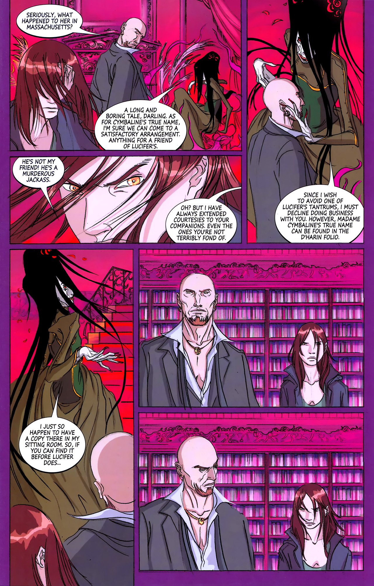Read online Hexed comic -  Issue #3 - 7