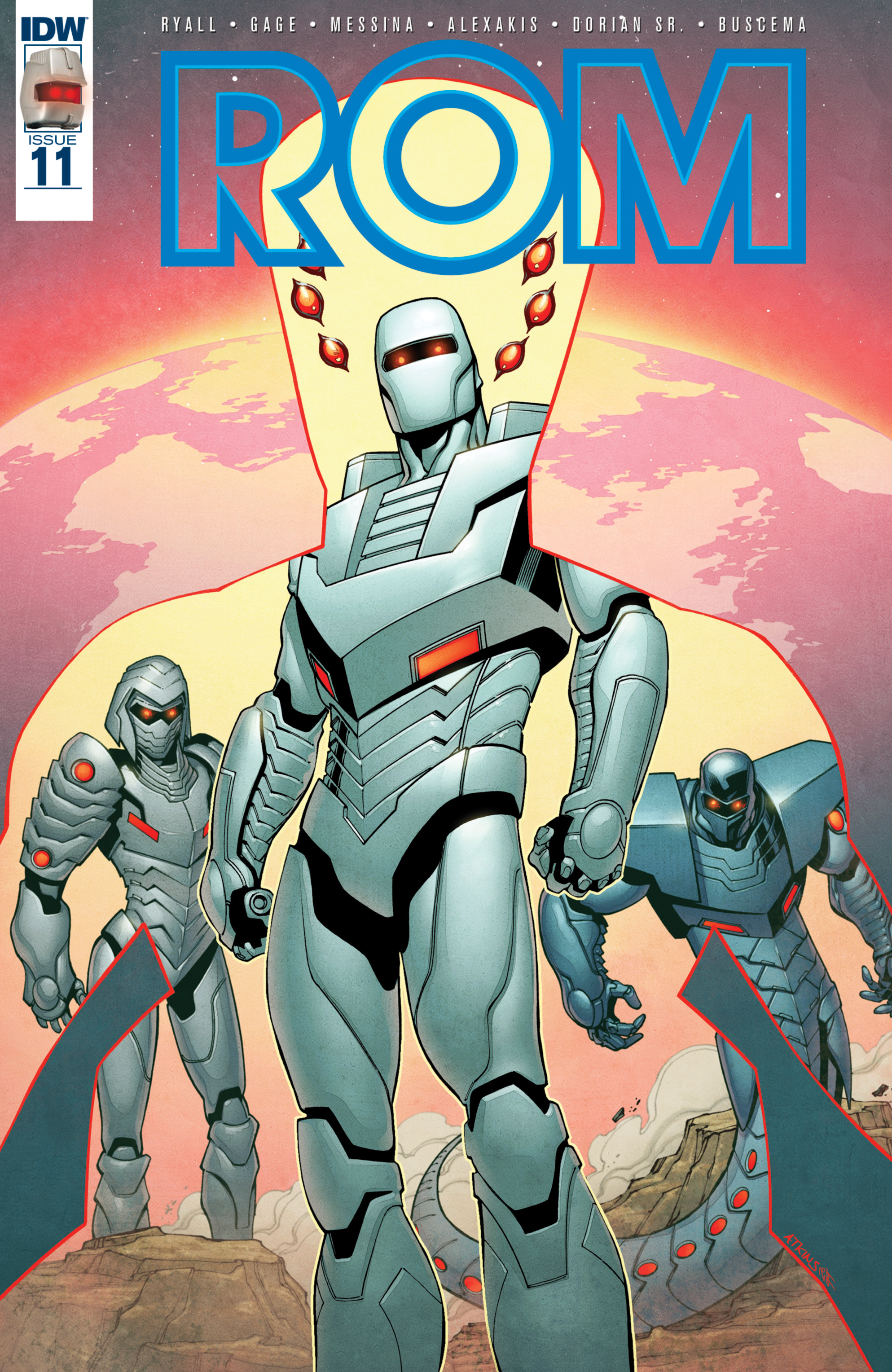 Read online ROM (2016) comic -  Issue #11 - 1