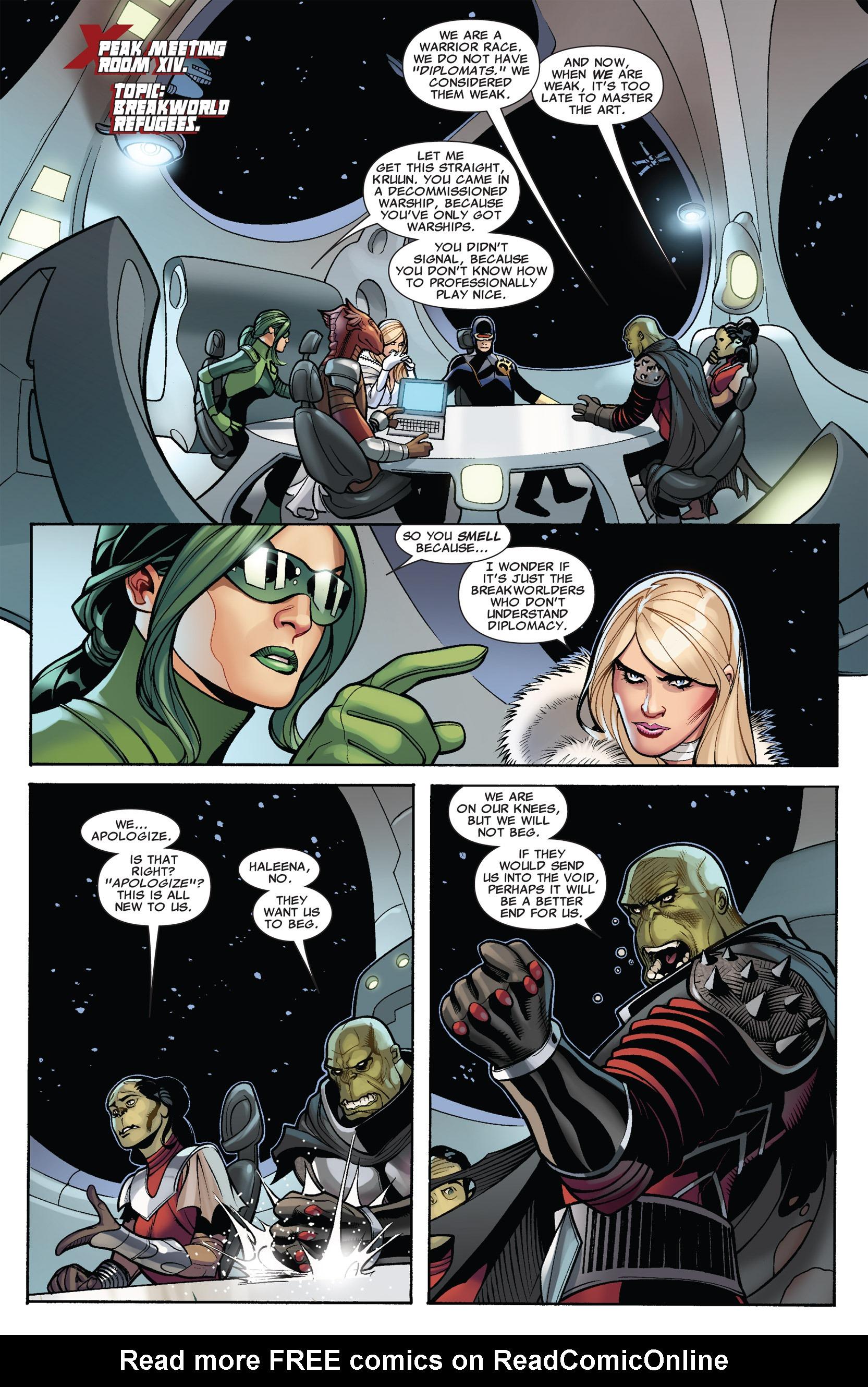 Read online Uncanny X-Men (1963) comic -  Issue #536 - 4