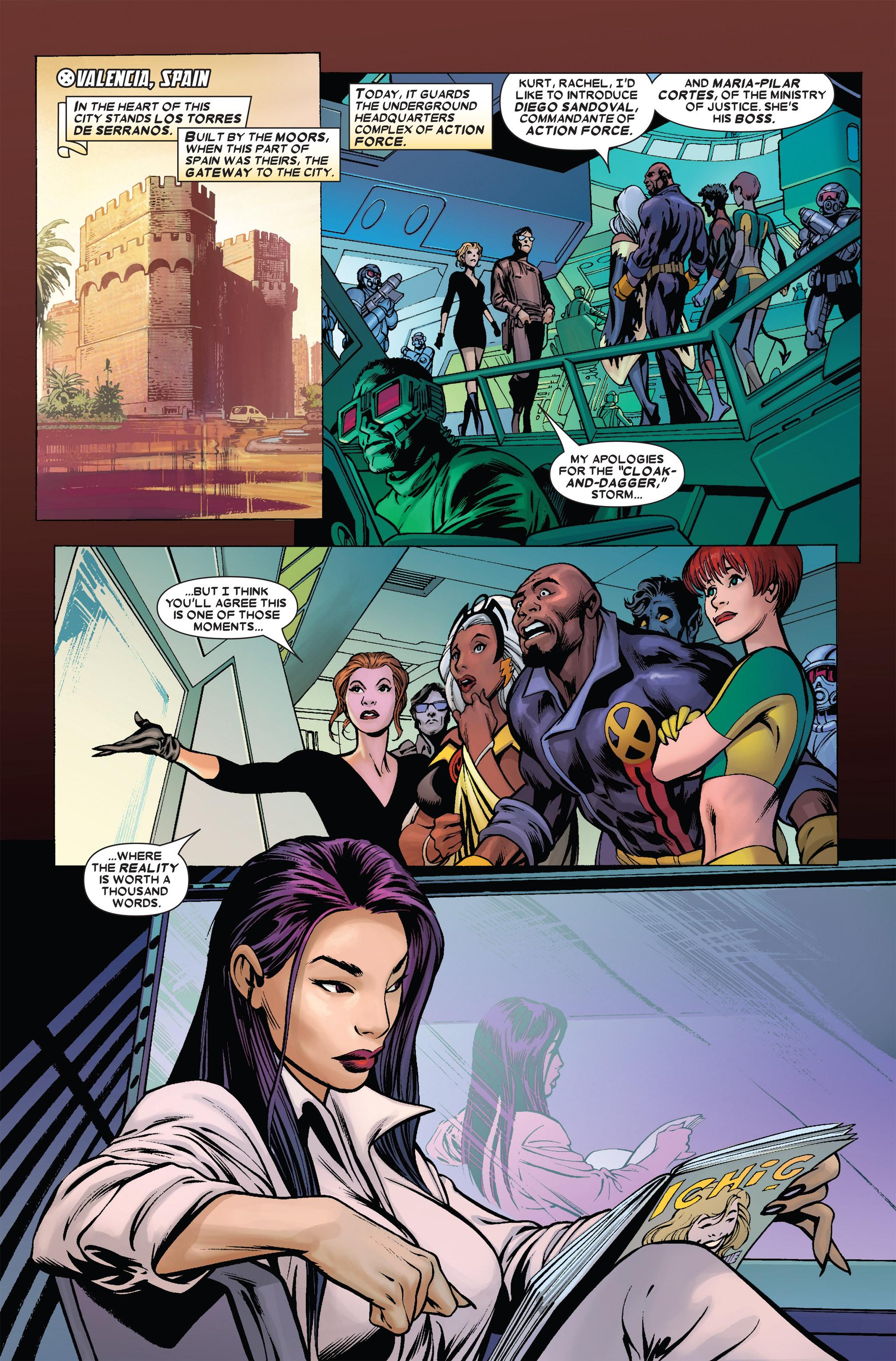 Read online Uncanny X-Men (1963) comic -  Issue #455 - 16