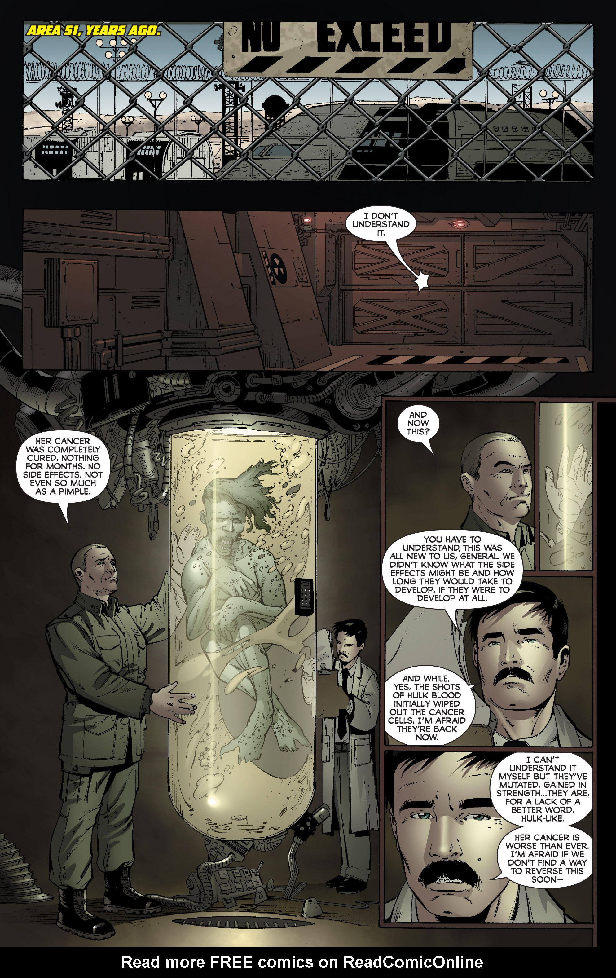 Read online World War Hulk: Gamma Corps comic -  Issue #3 - 19