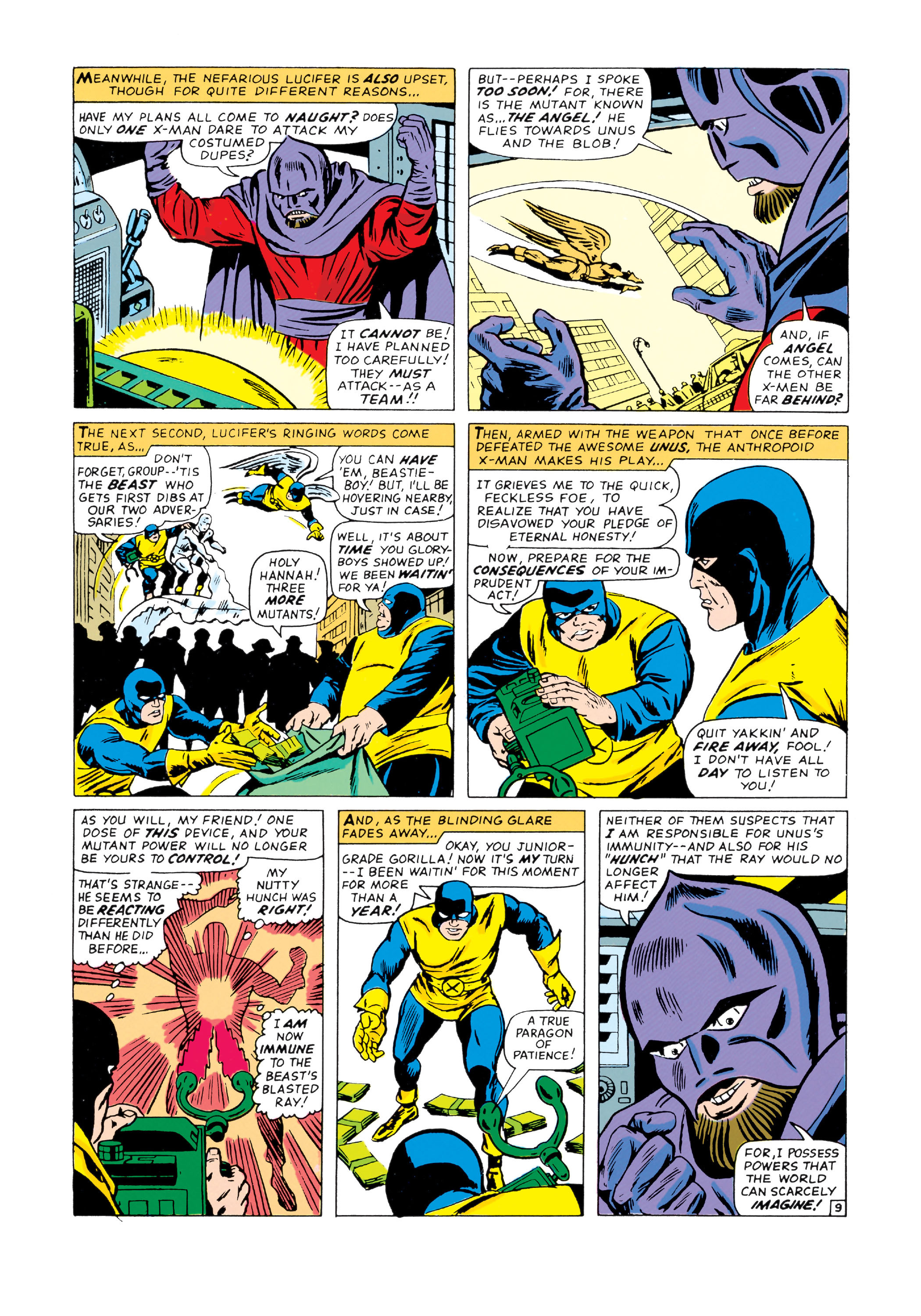Read online Uncanny X-Men (1963) comic -  Issue #20 - 10