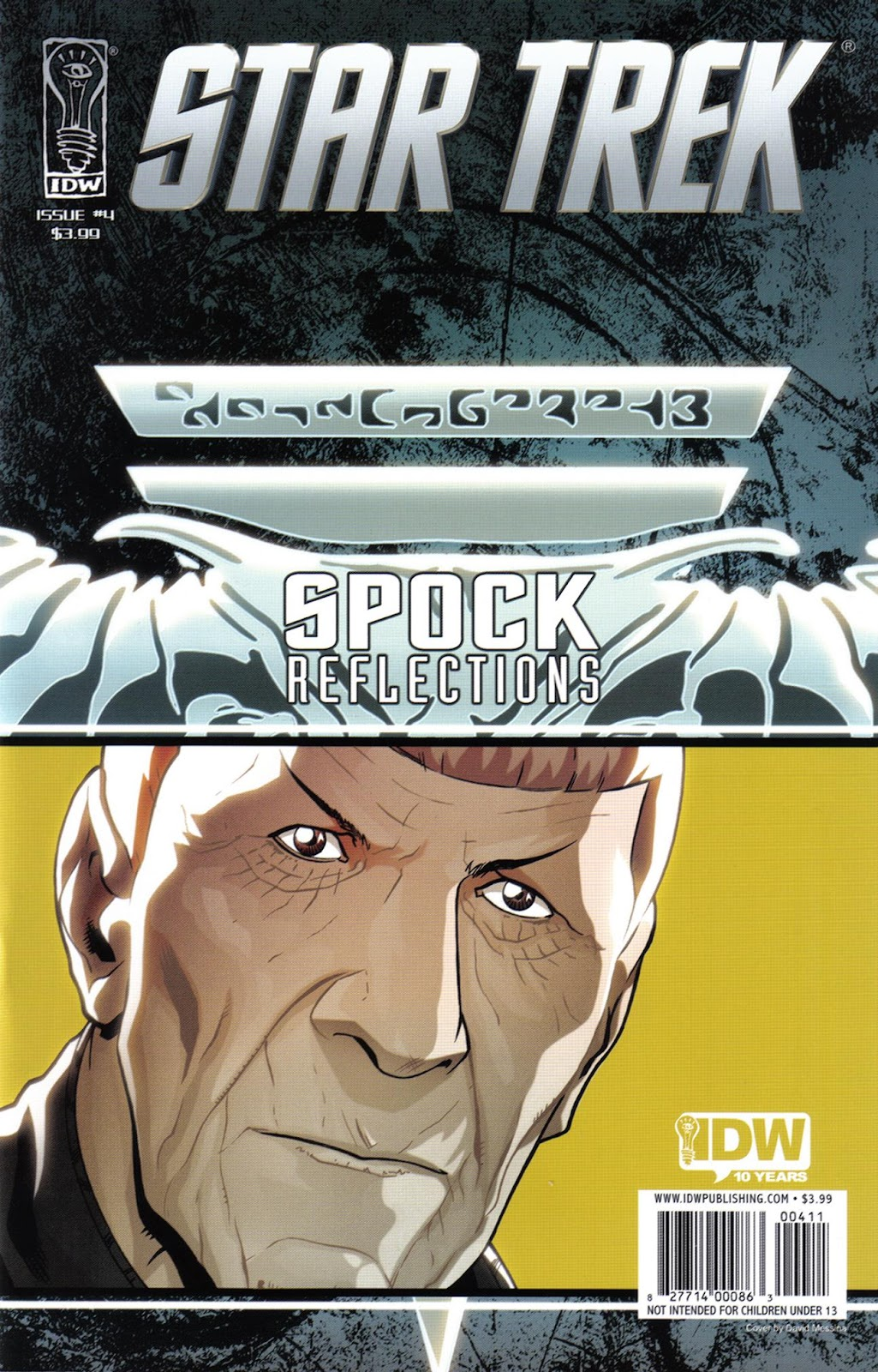 Star Trek: Spock: Reflections issue 4 - Page 1