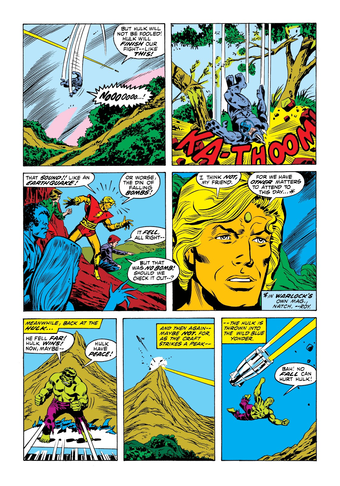 Read online Marvel Masterworks: The Incredible Hulk comic -  Issue # TPB 9 (Part 1) - 36