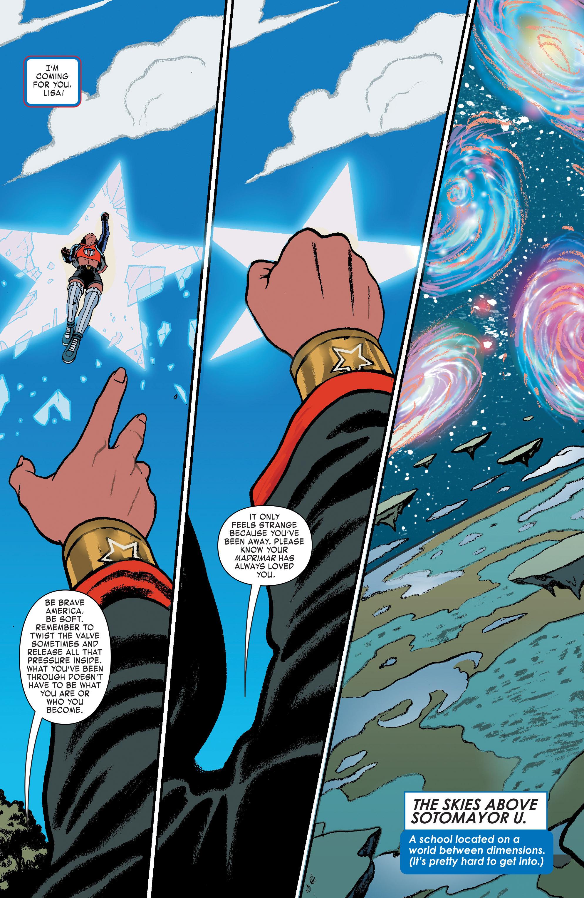 Read online America (2016) comic -  Issue #3 - 5