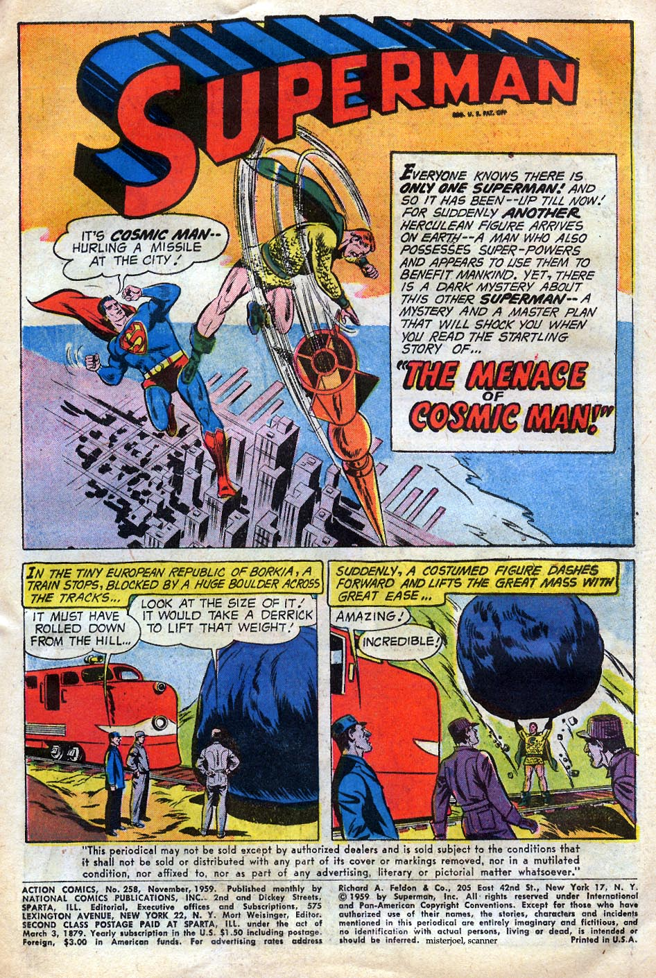 Read online Action Comics (1938) comic -  Issue #258 - 3