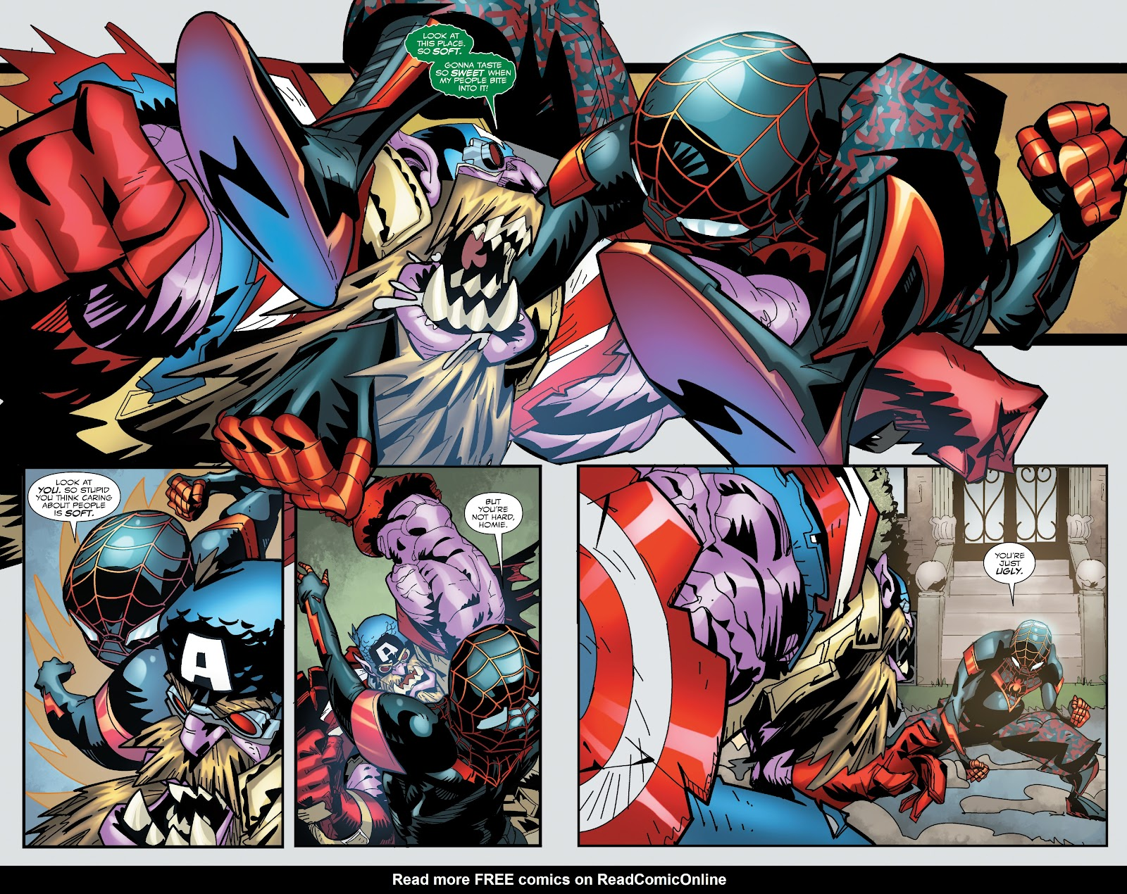 Read online Miles Morales: The End comic -  Issue # Full - 24