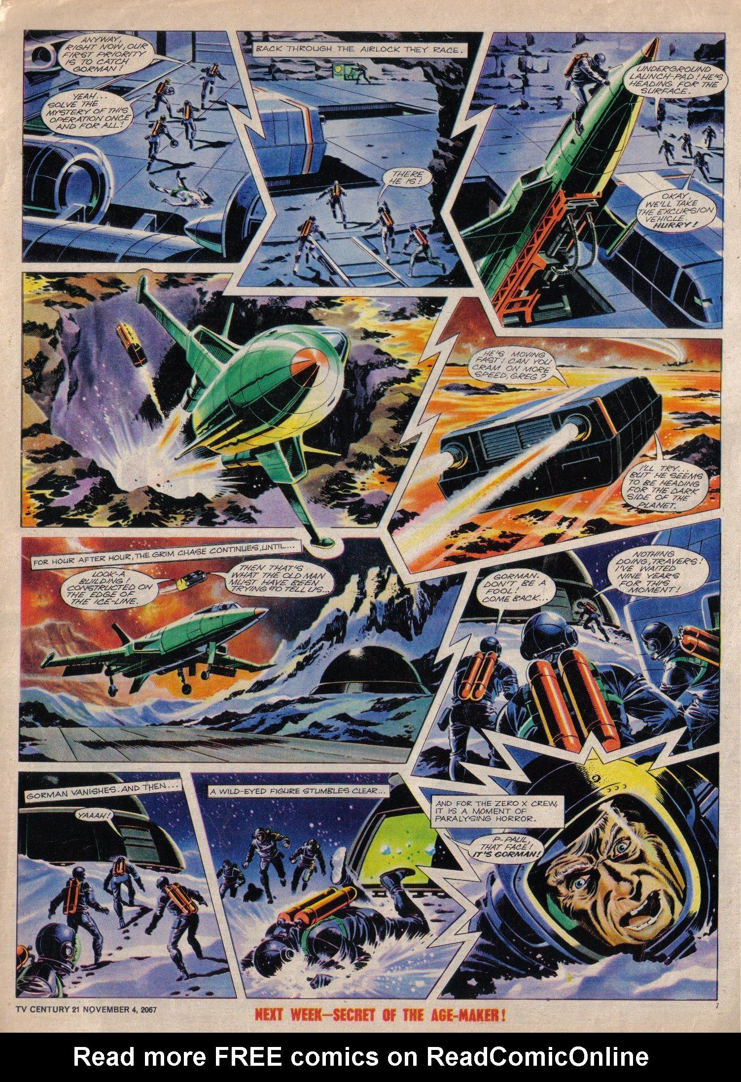 Read online TV Century 21 (TV 21) comic -  Issue #146 - 7
