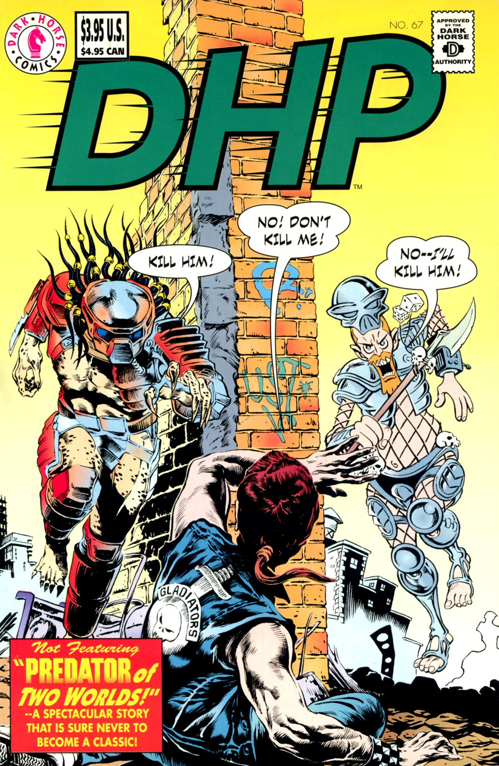 Dark Horse Presents (1986) 67 Page 1