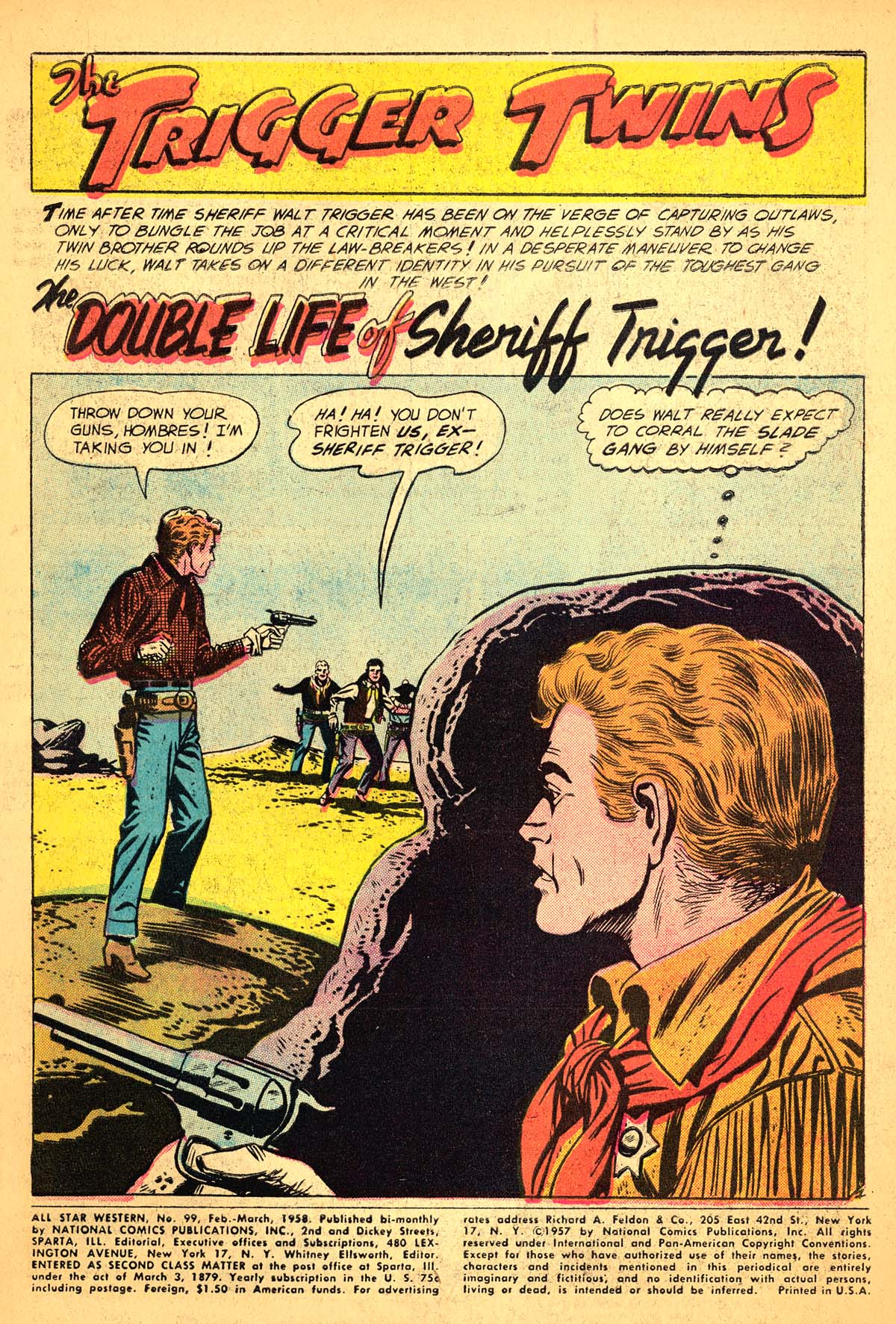 Read online All-Star Western (1951) comic -  Issue #99 - 3