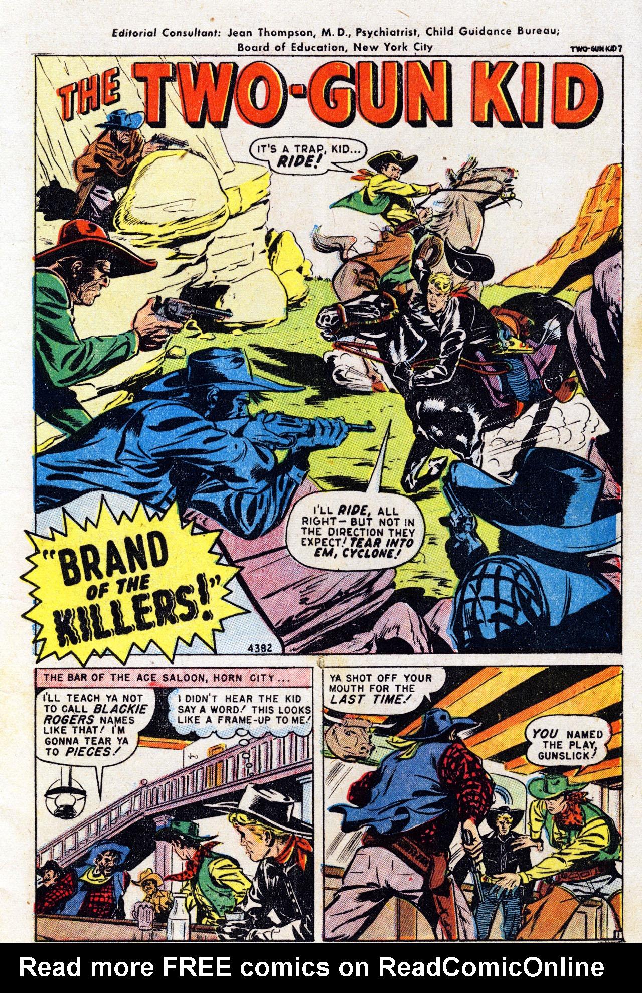 Read online Two-Gun Kid comic -  Issue #7 - 3