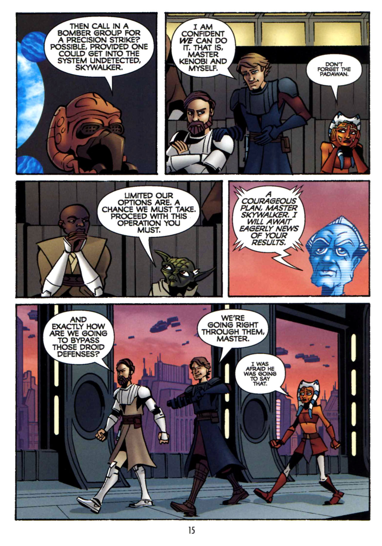 Read online Star Wars: The Clone Wars - Shipyards of Doom comic -  Issue # Full - 14