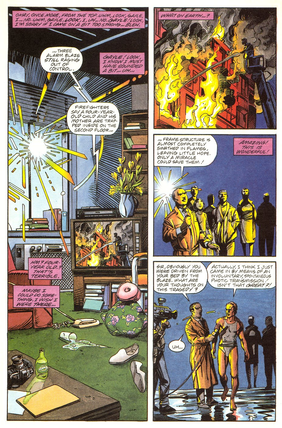 Read online Solar, Man of the Atom comic -  Issue #6 - 17