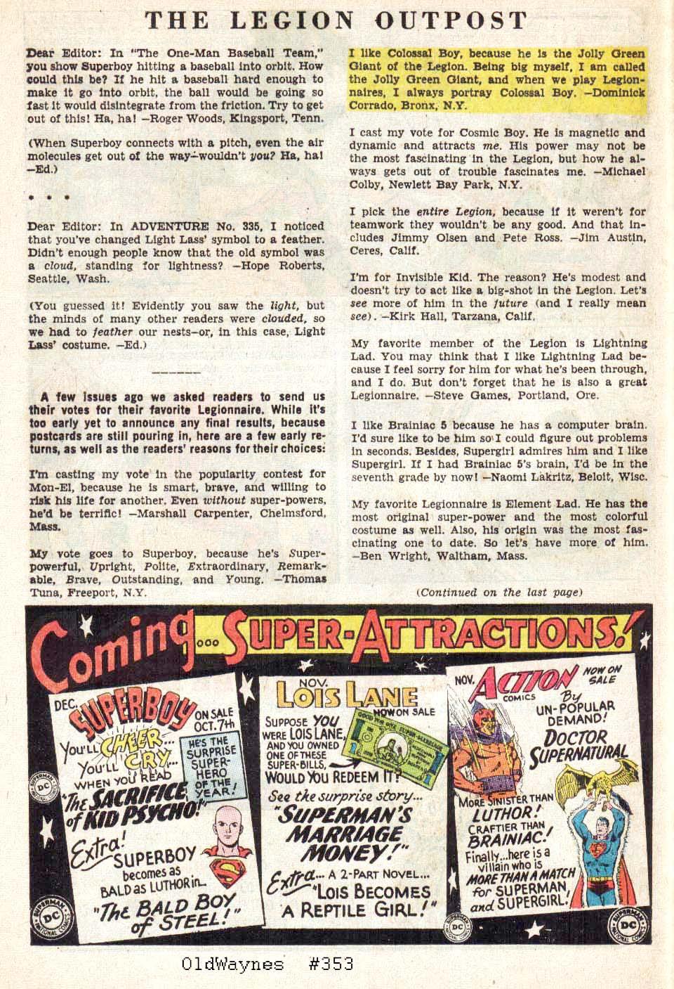 Read online Adventure Comics (1938) comic -  Issue #338 - 12