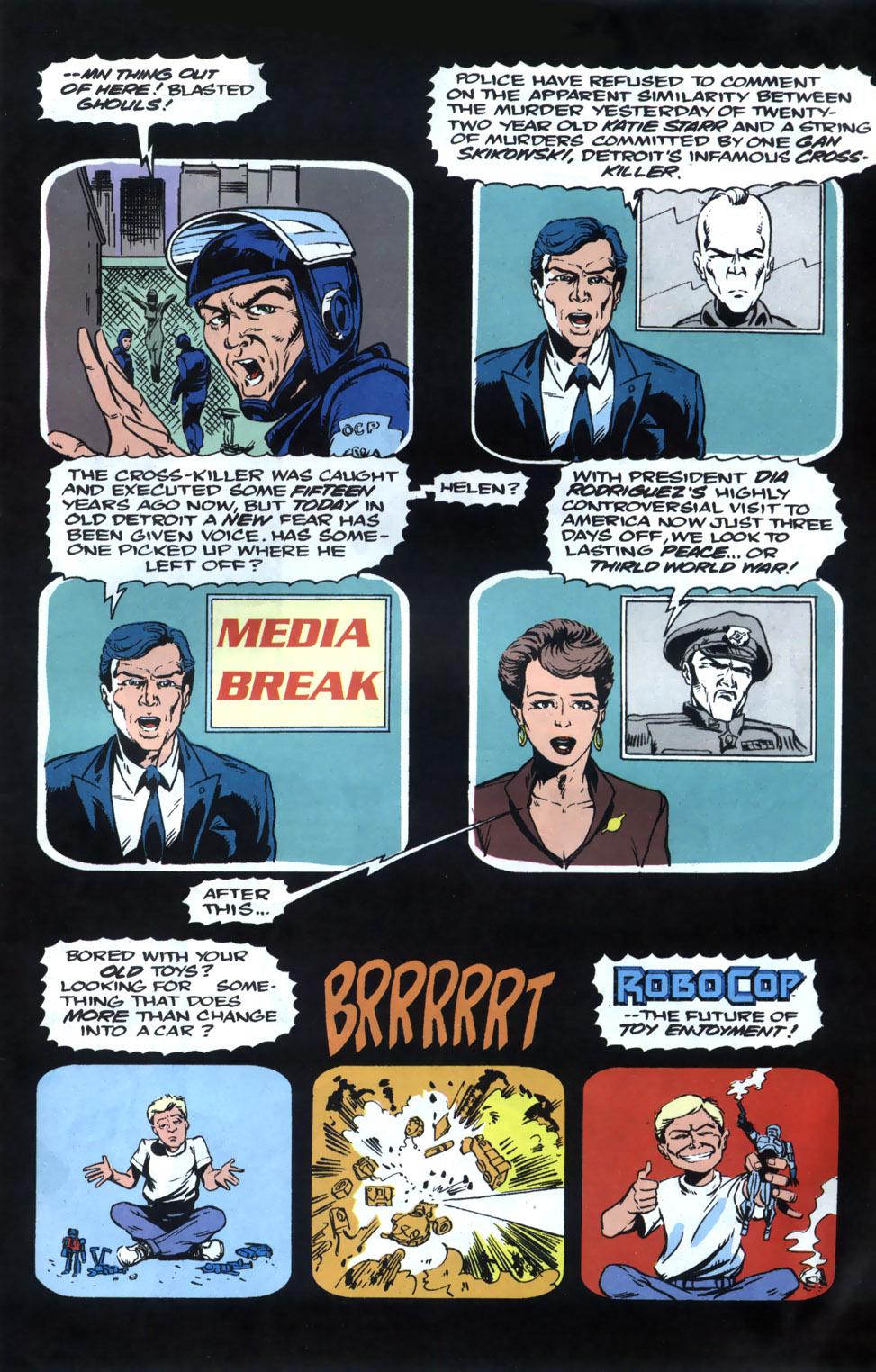 Read online Robocop (1990) comic -  Issue #20 - 8